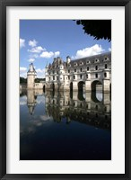 Framed Chateau Chenonceaux Loire Valley France