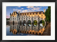 Framed Chateau Chenonceau, Castle, France
