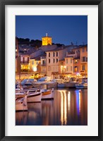 Framed Cassis at Twilight