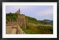 Framed Tzarevetz Fortress, Bulgaria