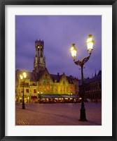 Framed Burg Square, Bruges, Belgium