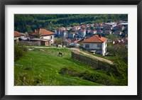 Framed Belogradchik Castle Ruins, Bulgaria
