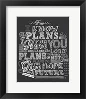 Framed Plans