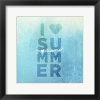 Framed I Heart Summer