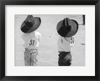 Framed Littlest Cowboys: 50 & 51