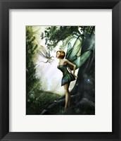 Framed Dragonfly Kiss