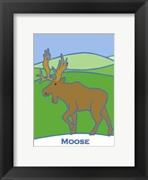 Framed Moose