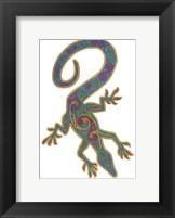 Framed Lizard Trispiral