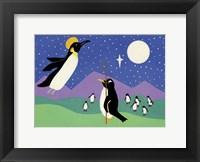 Framed Herald Penguin