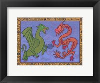 Framed Dragons