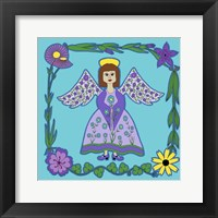 Flower Angel Framed Print