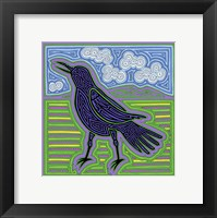 Framed Crow