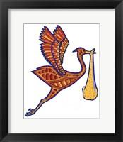 Framed Stork