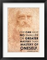Framed Mastery of Oneself