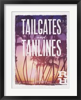 Framed Tailgates and Tanlines