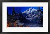 Framed Teton Autumn