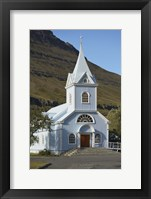 Rural Church I Framed Print