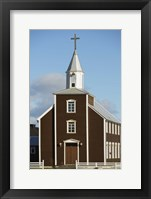 Rural Church II Framed Print