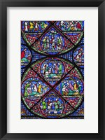 Stained Glass II Framed Print