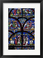 Stained Glass I Framed Print