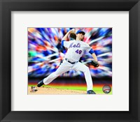 Framed Jacob deGrom Motion Blast
