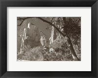 Framed Sepia Zion 2