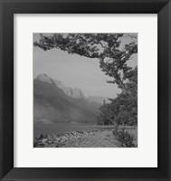 Framed Glacier 1