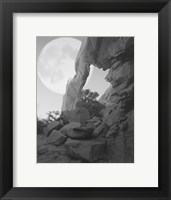 Framed Arches Moon Shadow