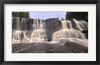 Framed North Shore Waterfalls I
