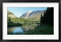 Framed Glacier National Park 23