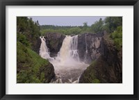 North Shore Rocky Waterfalls I Framed Print