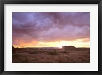 Framed Canyonland Sunset 1