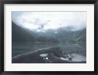 Framed Glacier National Park Lake 2
