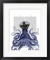 Framed Captain Octopus