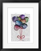 Puffer Fish Balloons Framed Print