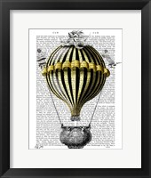 Baroque Fantasy Balloon 2 Framed Print
