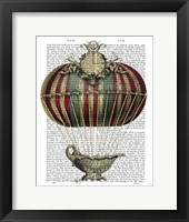 Baroque Fantasy Balloon 3 Framed Print