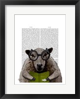 Intelligent Sheep Framed Print