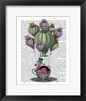 Dodo in Teacup Framed Print