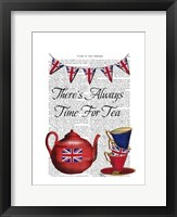 Time For Tea Framed Print