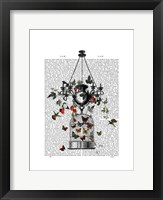 Strawberry Chandelier Framed Print