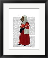 Basset Hound Judge Full I Framed Print