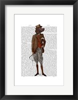 Red Setter Rider Full Framed Print