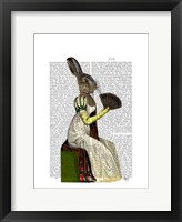 Miss Hare Framed Print