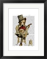 Banjo Bear I Framed Print