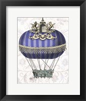 Baroque Balloon With Temple Framed Print