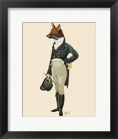 Dandy Fox Full Framed Print