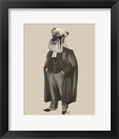 Schnauzer Lawyer Framed Print