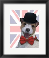 Framed Union Jack Jack Russell