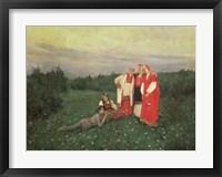 Framed Nordic Idyll